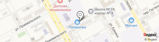 Новосибирская птицефабрика-Кузбасс на карте Нового Городка