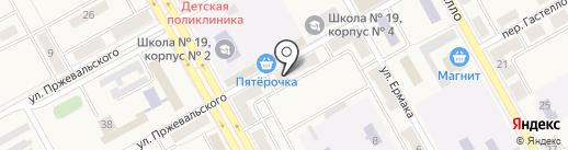 Одежки на карте Нового Городка