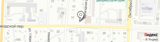 Автодеталь на карте Белово