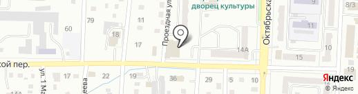 БАСК на карте Белово