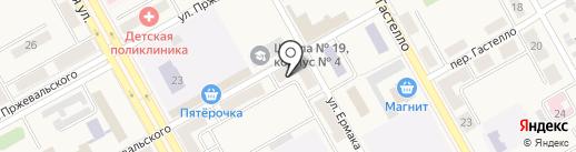 София на карте Нового Городка