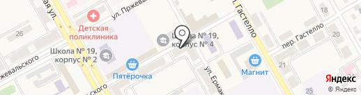 Дачка-собачка на карте Нового Городка