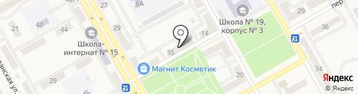 Грация на карте Нового Городка