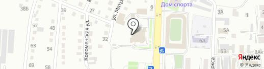 Банк УРАЛСИБ на карте Белово