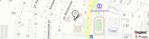 Универсал на карте Белово