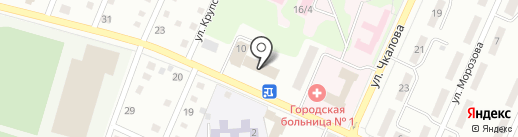 Управление Пенсионного фонда РФ в г. Белово и Беловском районе на карте Белово
