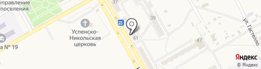 Мадина на карте Нового Городка