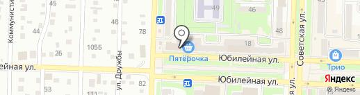 Банкомат, Банк Кольцо Урала на карте Белово