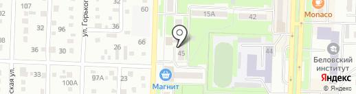 ВиЗаВи на карте Белово