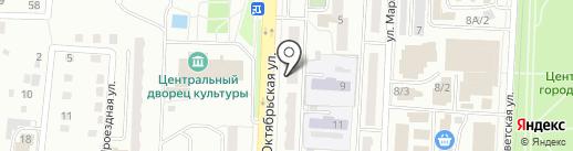 МилаДенежка на карте Белово