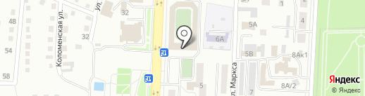 ДЮСШ №2 на карте Белово