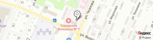 Городская больница №1 на карте Белово