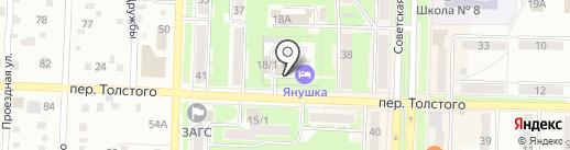 Я на карте Белово