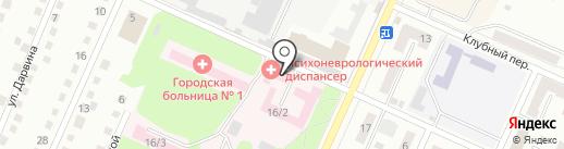 Беловский психоневрологический диспансер на карте Белово