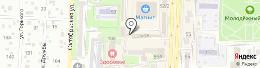 Мебельный магазин на карте Белово
