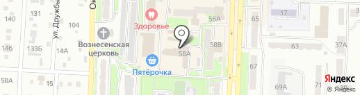 Крюгер на карте Белово