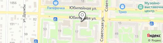 Управление Федерального казначейства по Кемеровской области на карте Белово