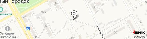 Автомойка на карте Нового Городка