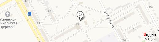 Трюфелька на карте Нового Городка