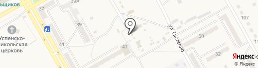 Солнышко на карте Нового Городка