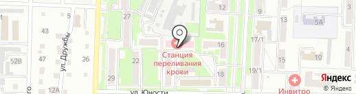 Кемеровский областной центр крови на карте Белово