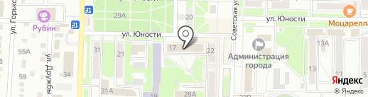 Беловское центральное управляющее предприятие на карте Белово