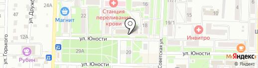 Юность на карте Белово