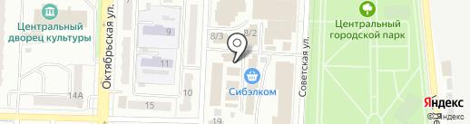 Магазин автозапчастей для иномарок на карте Белово