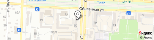 Карэ на карте Белово