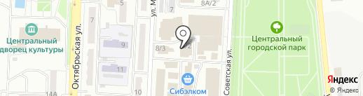 Колмогоровский бройлер на карте Белово