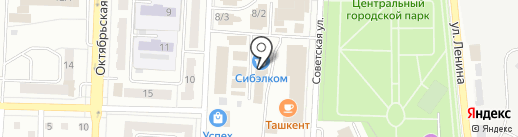 Форсаж на карте Белово