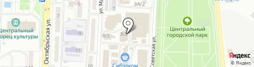 Молочные продукты из Алтая, ЗАО на карте Белово