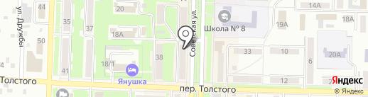 Банкомат, Почта Банк, ПАО на карте Белово