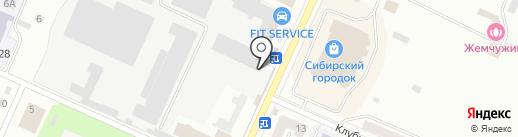 НПП Кузбассрадио на карте Белово
