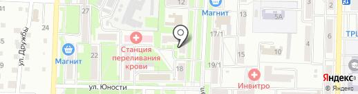 Объединенный учебно-методический центр ГО и ЧС на карте Белово