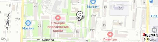 Сатин на карте Белово