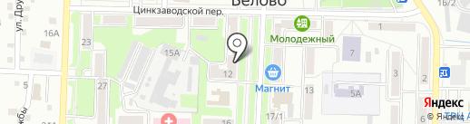 Глобус+ на карте Белово