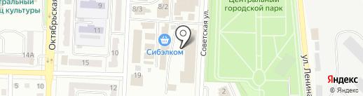 Столовая на карте Белово