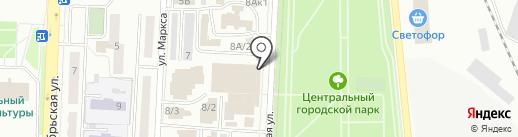 Мебельный салон на карте Белово