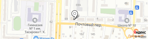 Бочка на карте Белово