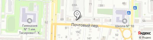 Антураж на карте Белово