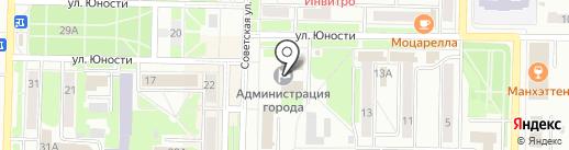 Совет народных депутатов Беловского городского округа на карте Белово