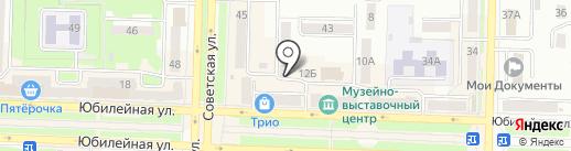 Iris на карте Белово