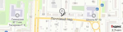 KAMAZ`OK на карте Белово