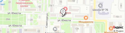 Нотариус Журавлева Т.А. на карте Белово