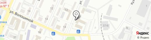 Беловский межмуниципальный отдел МВД России на карте Белово