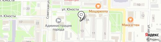 Парикмахерская на карте Белово