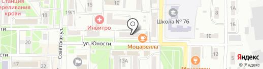 МДМ Банк на карте Белово