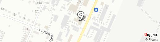 Магазин ритуальных принадлежностей на карте Белово