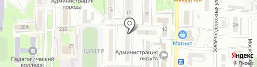 Управление по физической культуре, спорту и молодежной политике Администрации Беловского муниципального района на карте Белово